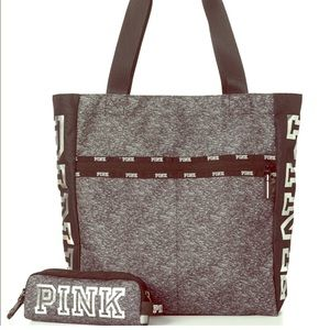 VS Pink Tote Bag + Tech Pouch (new)